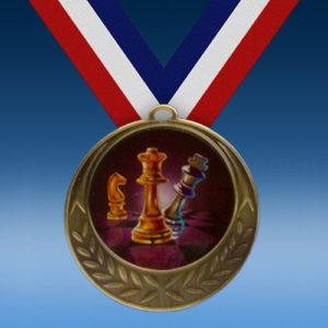 Chess Laurel Wreath Medal-0