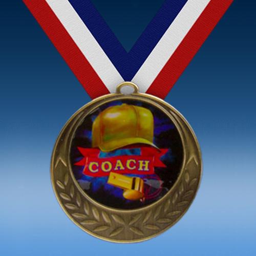 Coach Laurel Wreath Medal-0