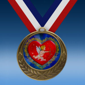 Cupid Laurel Wreath Medal-0