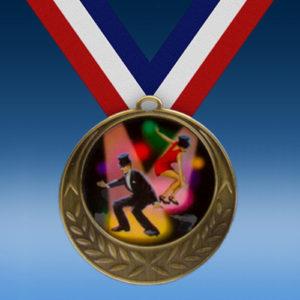 Dance Laurel Wreath Medal-0