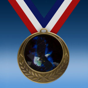 Eagle Laurel Wreath Medal-0