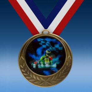 Go Karts Laurel Wreath Medal-0
