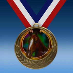 Horse Laurel Wreath Medal-0