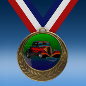 Hot Rod Laurel Wreath Medal-0