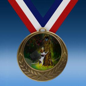 Hunting Laurel Wreath Medal-0