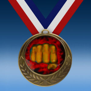 Martial Arts Laurel Wreath Medal-0