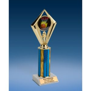 "Basketball Sport Diamond Trophy 10"""
