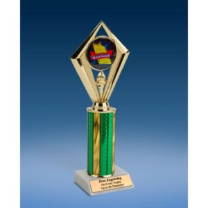 Manager Sport Diamond Trophy 10""