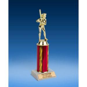 "Softball Sport Figure Trophy 10"""