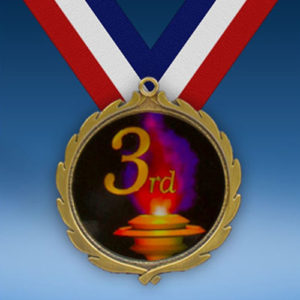 3rd Place Wreath Medal-0