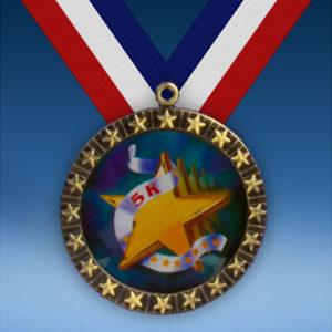5K 20 Star Medal-0