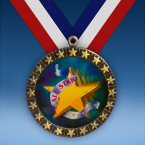All Star 20 Star Medal-0