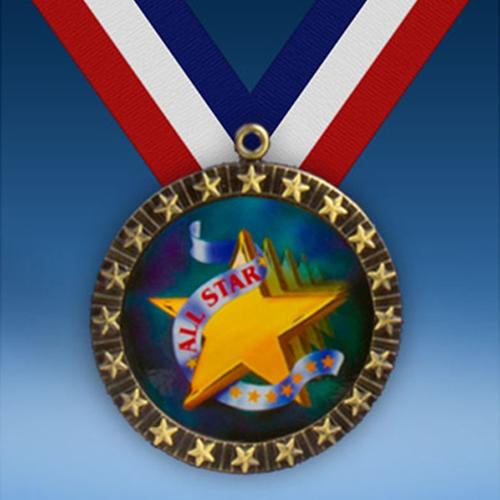 All Star 20 Star Medal-0