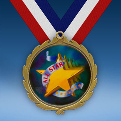 All Star Wreath Medal-0