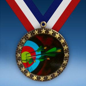 Archery 20 Star Medal-0