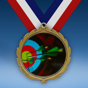 Archery Wreath Medal-0