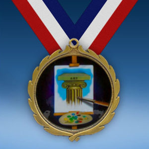 Art Wreath Medal-0