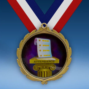 Attendance Wreath Medal-0