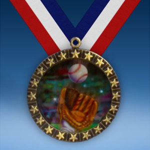 Baseball 2 20 Star Medal-0