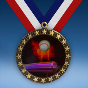 Baseball 20 Star Medal-0