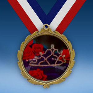 Beauty Pageant Wreath Medal-0