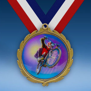 BMX Wreath Medal-0