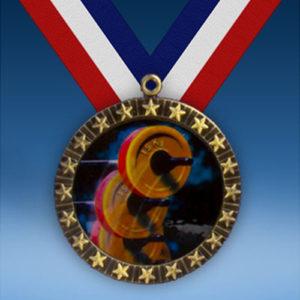 Body Building 20 Star Medal-0