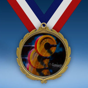 Body Building Wreath Medal-0