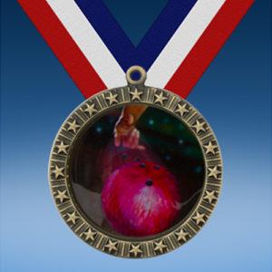 Bowling 2 20 Star Medal-0