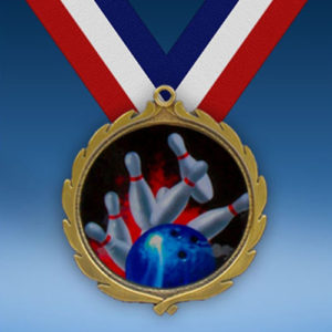 Bowling Wreath Medal-0