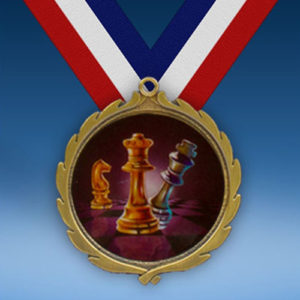 Chess Wreath Medal-0
