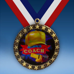 Coach 20 Star Medal-0