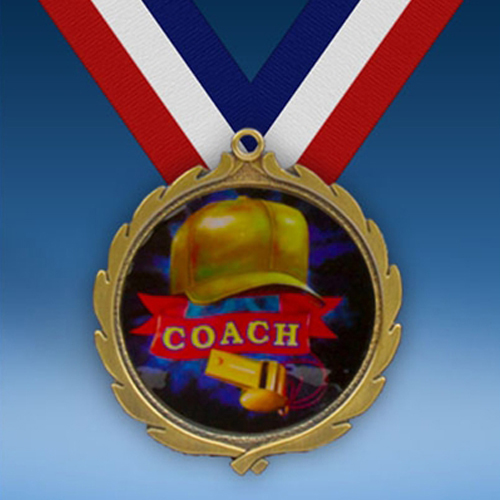 Coach Wreath Medal-0