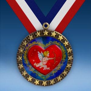 Cupid 20 Star Medal-0