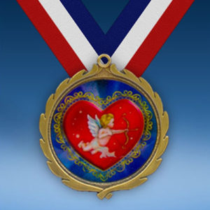 Cupid Wreath Medal-0