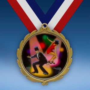 Dance Wreath Medal-0