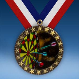 Darts 20 Star Medal-0