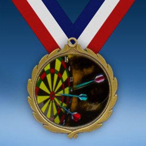 Darts Wreath Medal-0