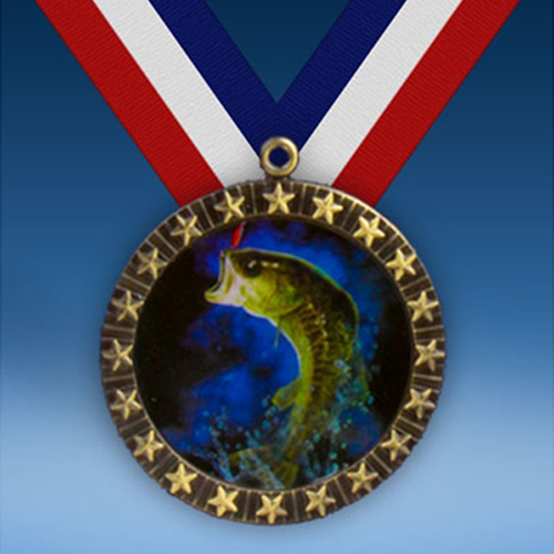 Fishing 20 Star Medal-0