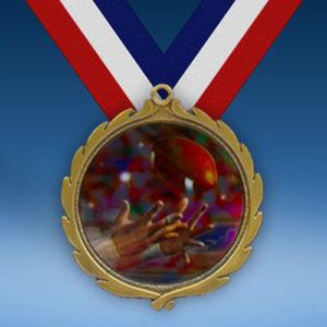 Football 2 Wreath Medal-0