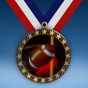 Football 20 Star Medal-0