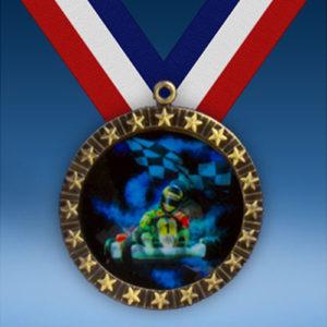 Go Karts 20 Star Medal-0