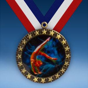 Gymnastics Female 20 Star Medal-0
