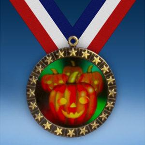 Halloween 20 Star Medal-0