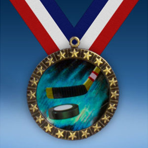 Hockey 20 Star Medal-0