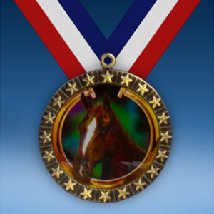 Horse 20 Star Medal-0