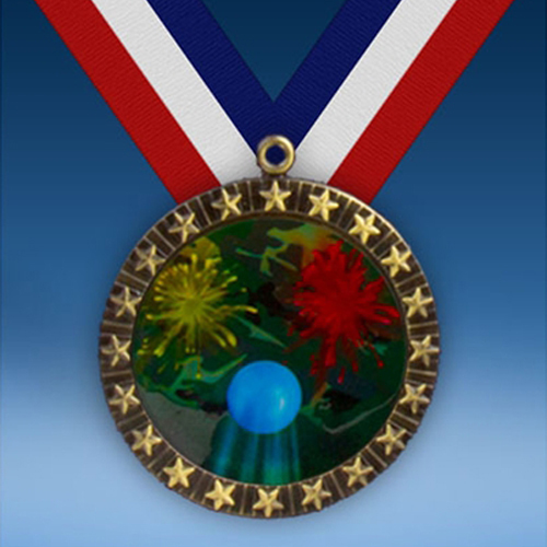 Paintball 20 Star Medal-0