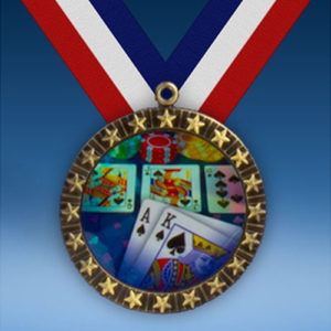 Poker 20 Star Medal-0