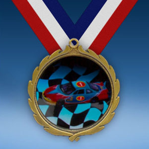Racing Wreath Medal-0