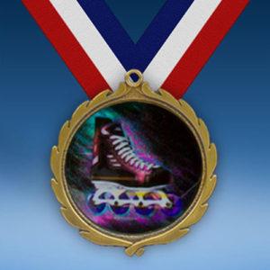 Rollerblade Wreath Medal-0